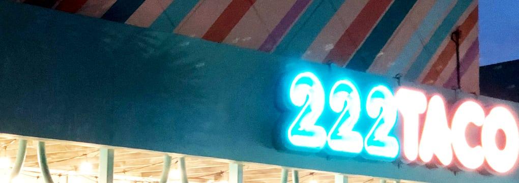 Tacos Tuesdays at 222 Taco