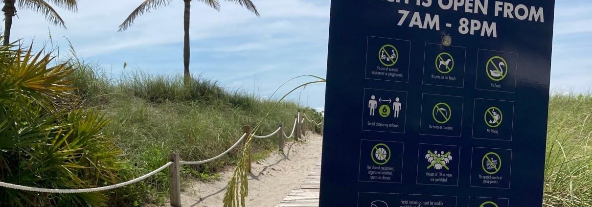 Miami Beach's Beaches Are Opening